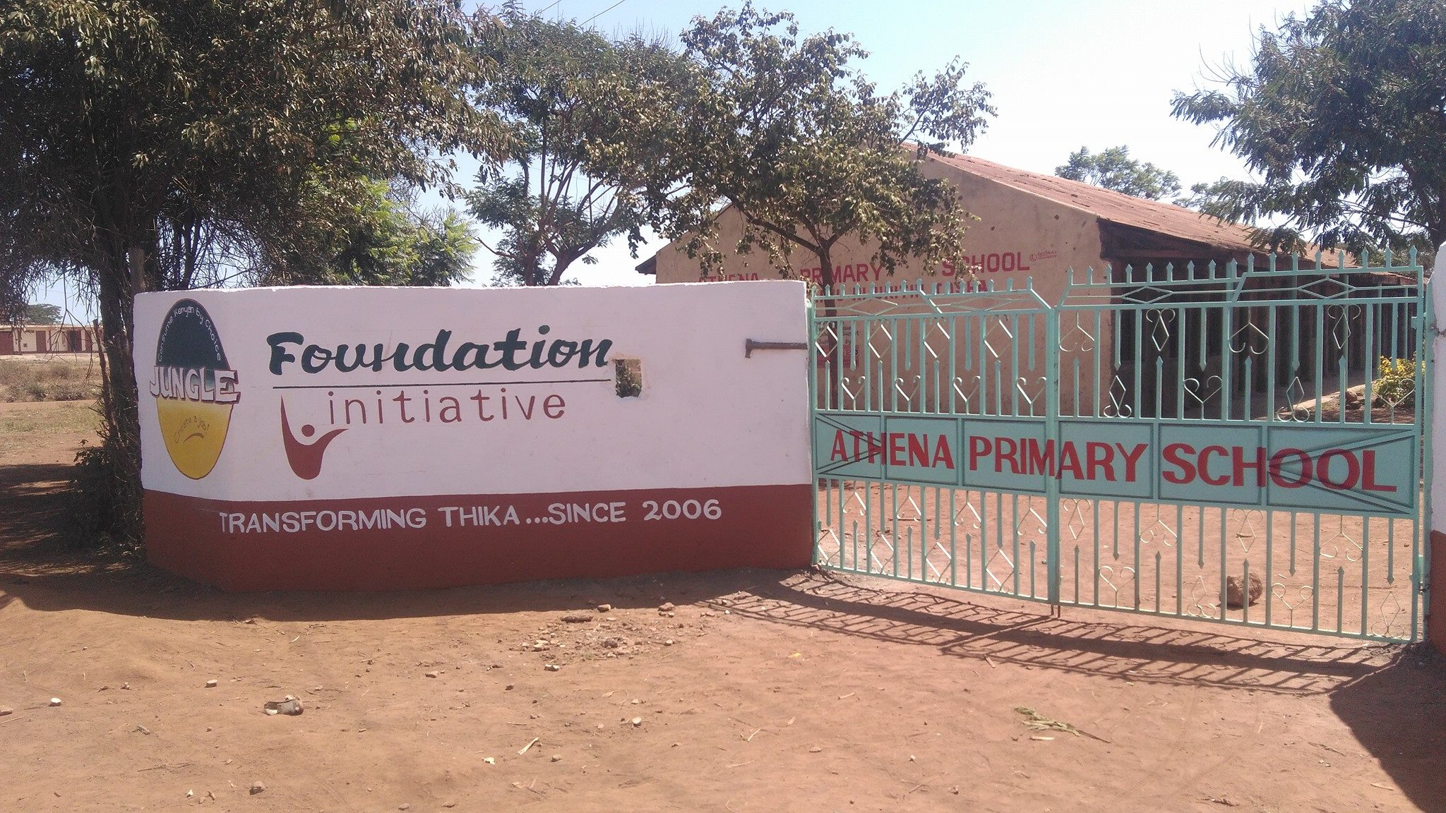 Athena Primary School Gate Project