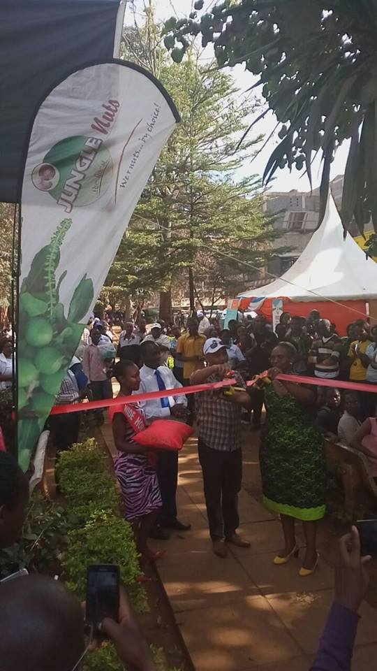 Official Opening of Thika Exhibition at Mama Ngina Garden