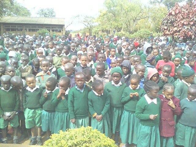Prize Giving Day at General Kago Primary School in Thika